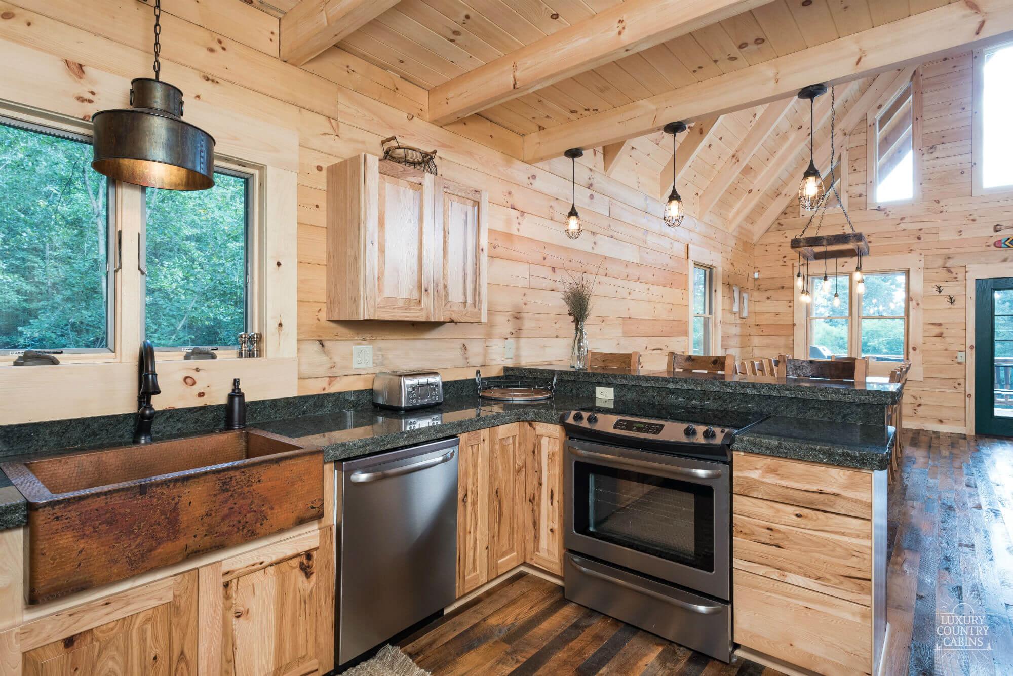 Stone Lake Lodge Kitchen Area